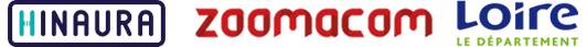 logos Hinaura Zoomacom Département de la Loire